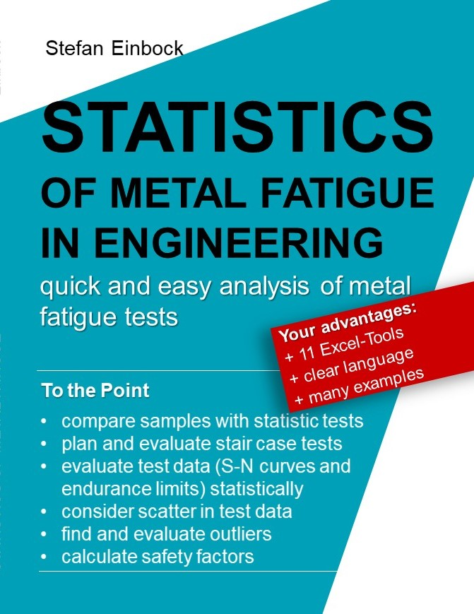 Book to evaluate SN curves for metal fatigue in engineering