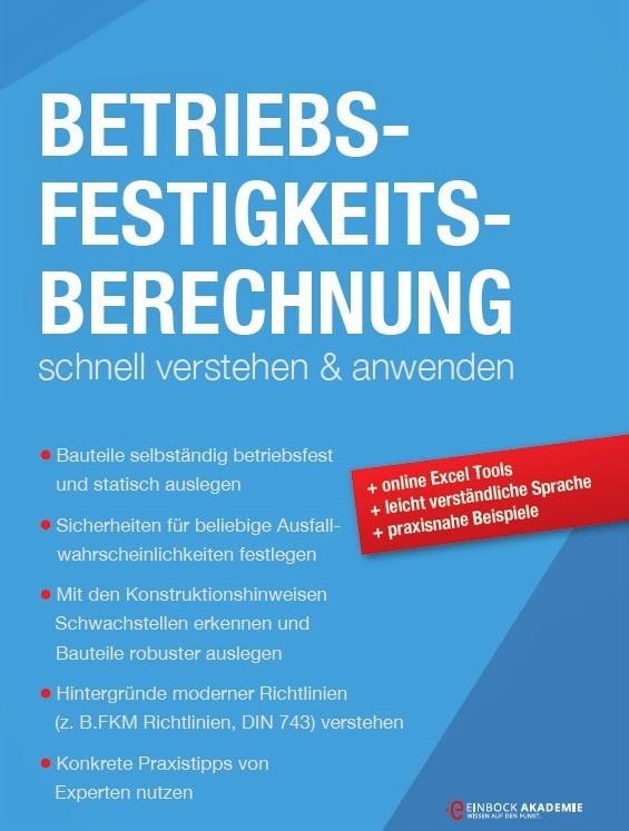 Buch zur Betriebsfestigkeit und der Berechnung von Wöhlerlinien und Lebensdauern