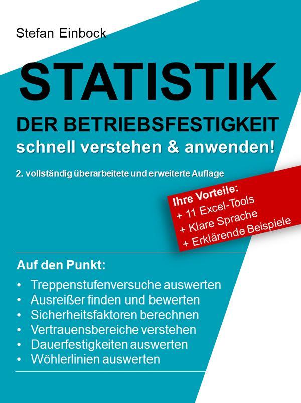 Buch STATISTIK der Betriebsfestigkeit – schnell verstehen & anwenden