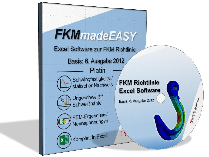 FKM-Richtlinie Excel Software 6. Auflage 2012