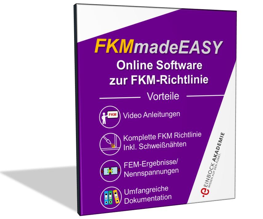 FKMmadeEASY - die Online Software zur FKM Richtlinie